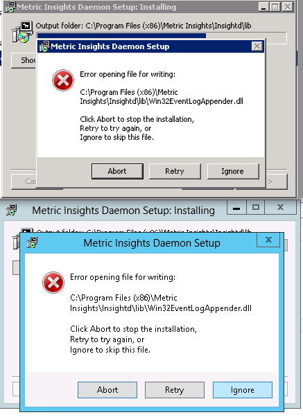 Install the Windows Service