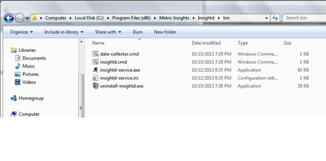 Uninstall Windows Service