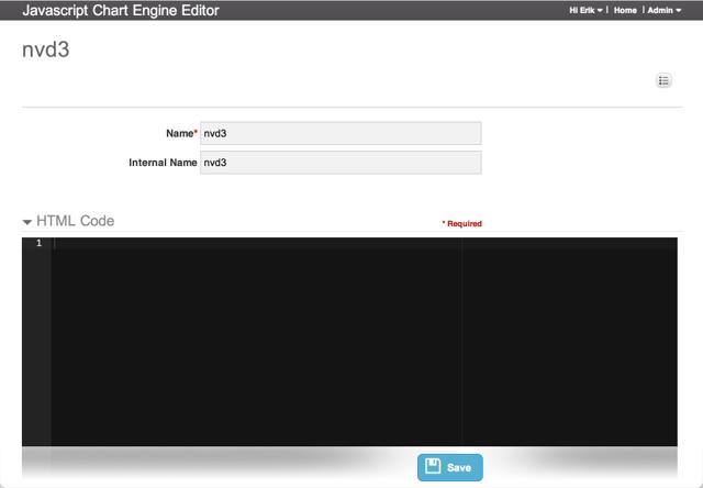 JavaScript Chart Engine Editor