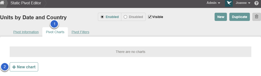 Associate a Chart with the Pivot Table