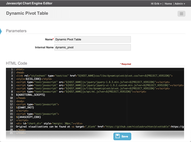 JavaScript Charting Engine