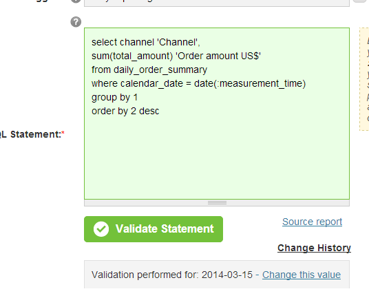 Paste the code in and validate to recover prior version