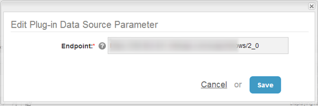 6. Add Endpoint parameter to profile