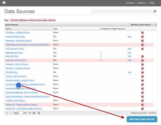 2. Add New Data Source