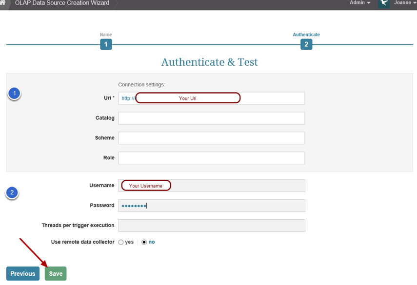 5. Authenticate and Test