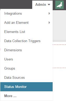 Access the Status Monitor