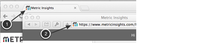 Example of our favicon