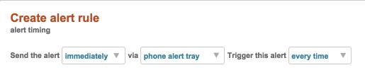 Alert Tray