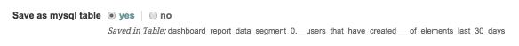 2. Save Report Data in Mysql Table