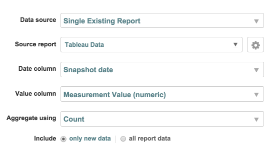 Create Metric that Counts Report Records