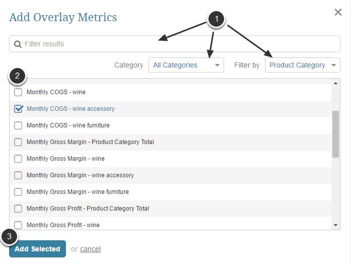 Adding Overlay Metrics