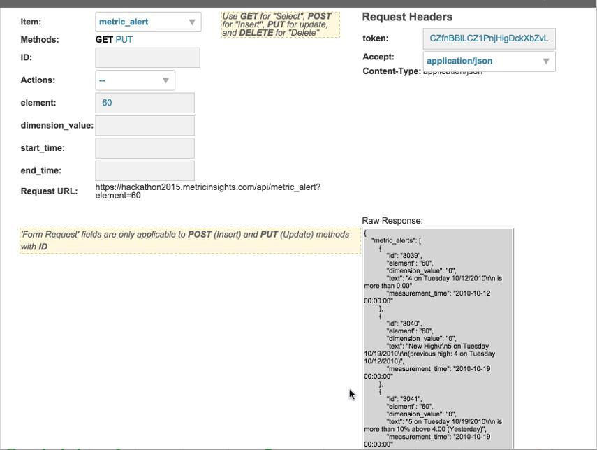 API Toolkit to test and discover API calls