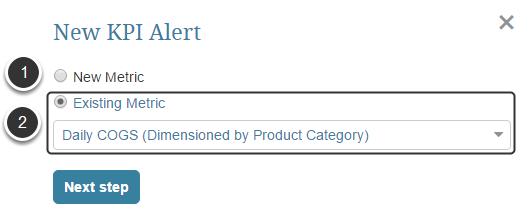 Adding new Alerts via Subscription grid
