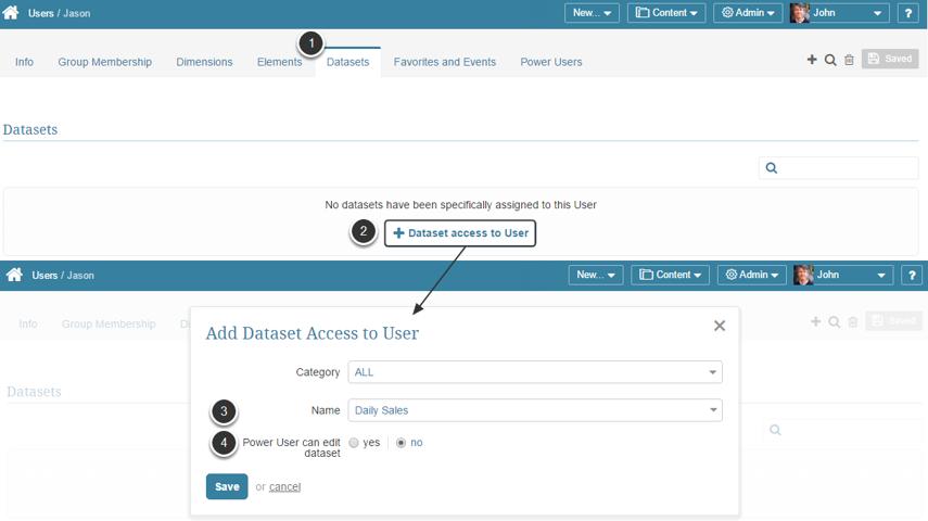 Dataset Data Access