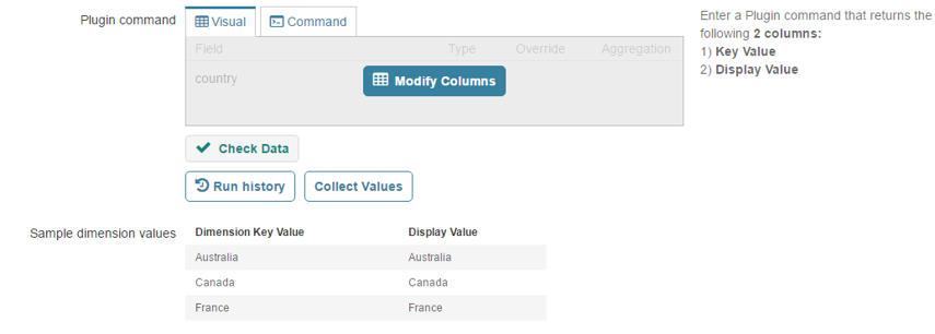 Check Data and Collect Values