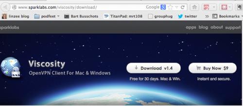 VPN Software Options on OSX