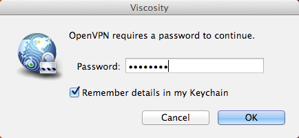 Enter the Password You Created