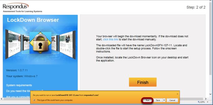 LockDown Browser - WebAssign