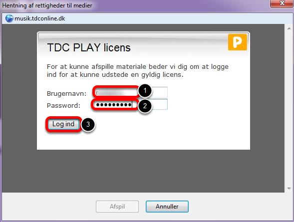 Du skal nu have en licens for at afspille musik fra TDC Play