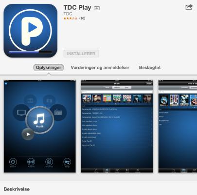 Der kan godt gå lidt tid med at installere App'en