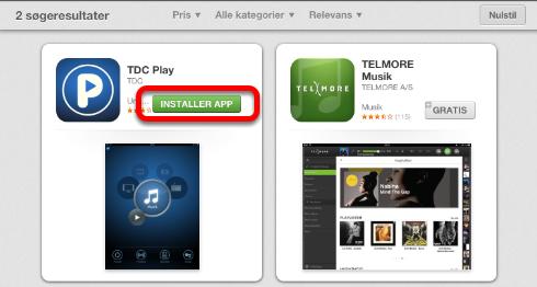 """Klik nu på: """"Installer App"""""""