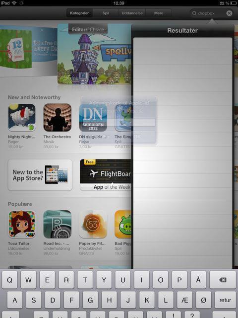 Masser af apps