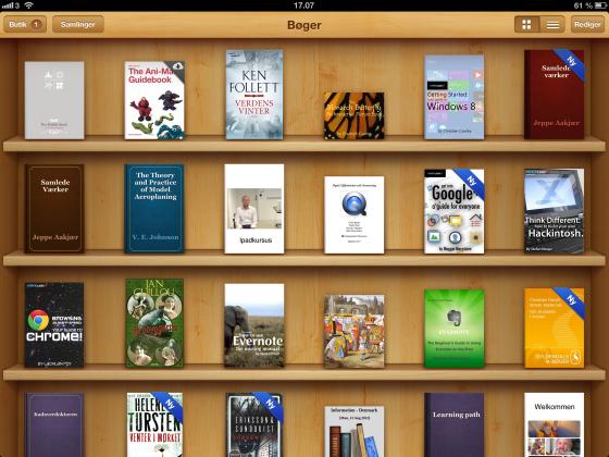 Læse e-bøger