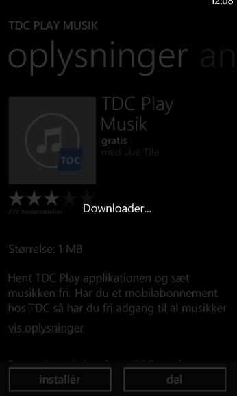 App'en downloades