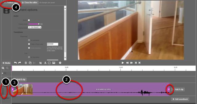 redigere din video