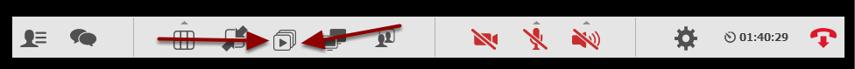 Vælg dette ikon i funktionsmenuen