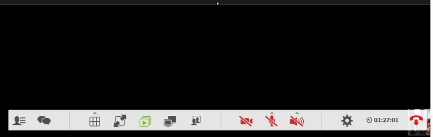 Sidepanelet med gruppechat er nu forsvundet fra din skærm igen