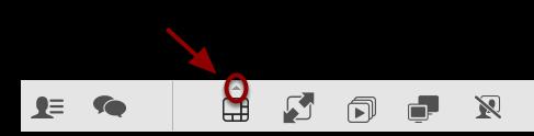 Du kan også vælge antal videostrømme du vil se ved at trykke på den lille trekant over ikonet