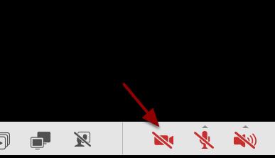 Klik på video-ikonet på funktionsmenuen