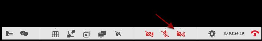 For at slå lyden til, klik på lyd-ikonet i menuen