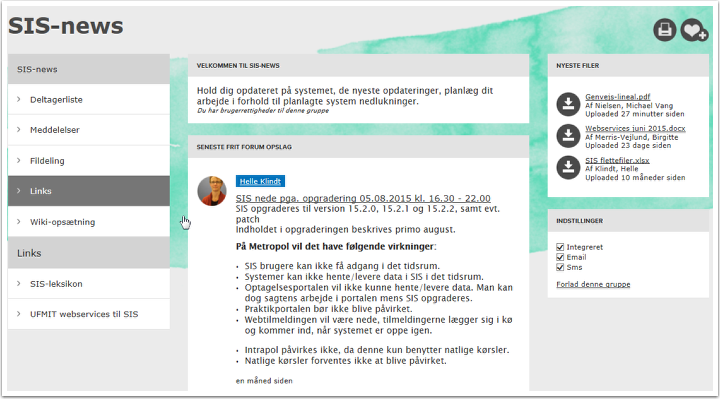 2. SIS-news på Intrapol