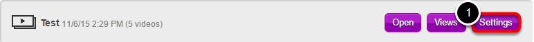 """For at finde indlejringskoden i DreamBroker skal du starte med at gå ind i """"Channels"""" og finde den kanal hvori den video eller det lydklip du vil indlejre ligger"""