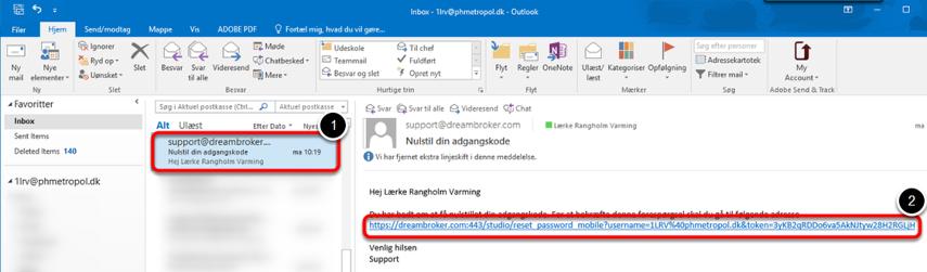 Åbn din phmetropol e-mail