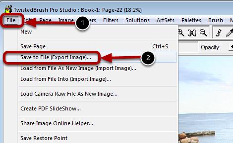 Saving Your Work to an External File