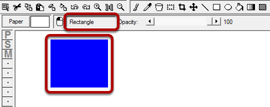 Step 3: Use the Rectangle Tool