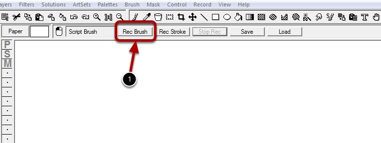 Using the Script Brush : Part 1 - Starting the Recording