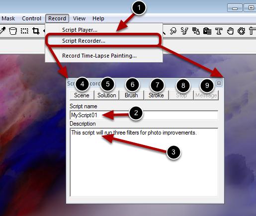 Script Recorder Details