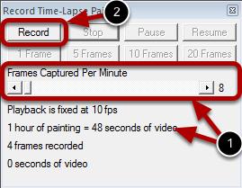 Step 2 : Start the Recording