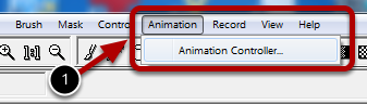 Starting the Animation Controller Panel