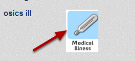 The OSICS Illness Diagram was not available for entry. These OSICS codes are now available to enter in Medical Illness records