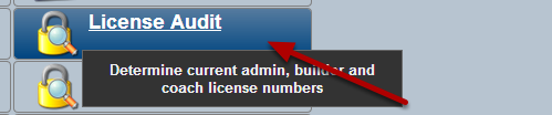 The License Audit Module was designed to show what License/s each User has. It also provides a list of the groups each User is in.