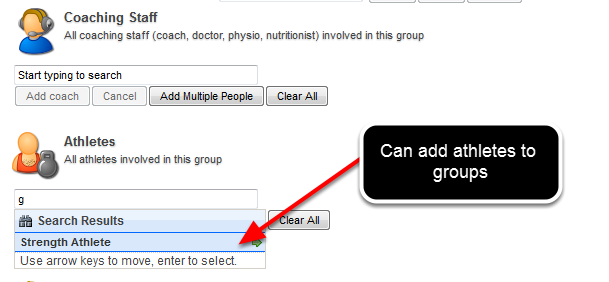 They can change users between groups they administer