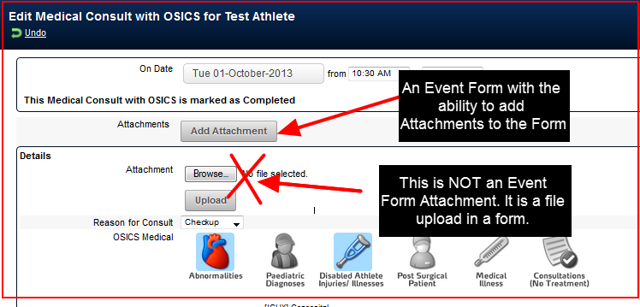 Additionally, access to Event Form Attachments-Resources is now limited by which Category each user is assigned