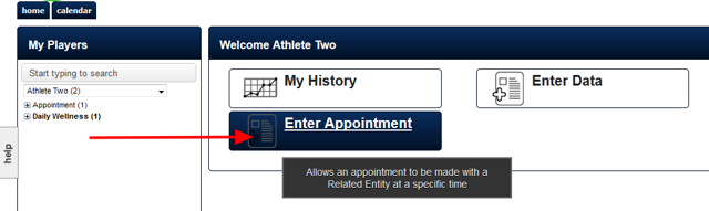 """You will have been set up with access to the """"Book Appointments"""" Module. This will appear on your Home Page"""