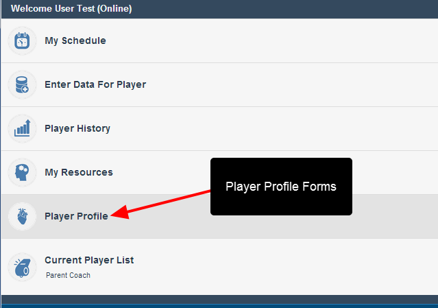 Profile Data can now be edited and accessed on the Mobile application