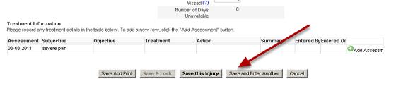 Save the New Injury/Illness Record